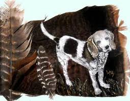 bluetick coonhound nh artwork by lennie bartlett lake sunapee living