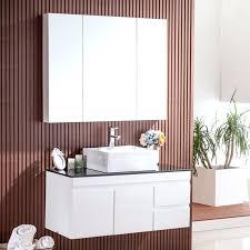 bathroom vanity mirror cabinet espresso bath vanity mirror