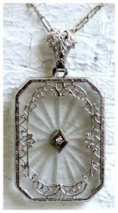 antique necklace vintage images Camphor glass diamonds in the library jpg