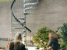 arke treppen treppen civik zink fontanot vorgefertigte treppen für