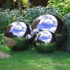 18 best garden spheres images on garden ideas bauer