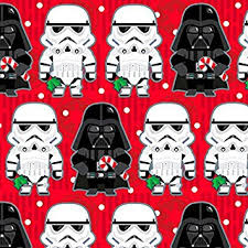 wars wrapping paper hallmark christmas gift wrap wars stormtroopers