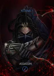 mortal kombat x kitana variation assassin by grapiqkad on deviantart