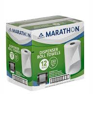 Commercial Bathroom Supplies Amazon Com Marathon Dispenser Roll Towels 12 Rolls For Marathon