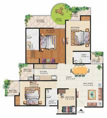 grand ajnara heritage floor plans