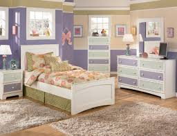 Two Tone Walls Girls Bedroom Furniture Set Plus Two Tone Wall Paint Colors