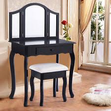 Mirrored Vanity Bench Vanities U0026 Makeup Tables Ebay
