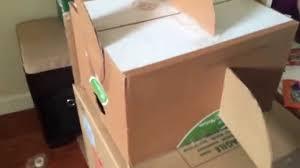 building a cardboard box rocket ship youtube