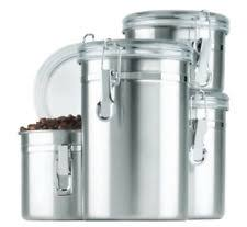 clear kitchen canisters anchor hocking stainless steel kitchen canisters jars ebay