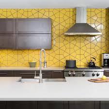 yellow kitchen countertop yellow kitchen makeovers yellow