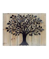Nautical Metal Wall Art Great by Another Great Find On Zulily Wood U0026 Metal Tree Wall Art By Mcs