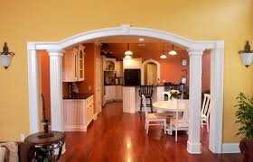 Home Interior Arch Designs by Opening Up Wall Making A Smaller House Feels Spacious How To