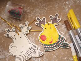 reindeer ornaments easy reindeer ornaments 99 cents only christmas kid craft kits