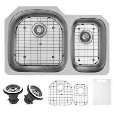 Undermount Stainless Steel Kitchen Sink by Vigo Undermount Stainless Steel 23 In Single Basin Kitchen Sink
