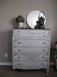 Gray Furniture Paint Little Miss Penny Wenny Tall Antique Dresser Part 3 And Reveal 2