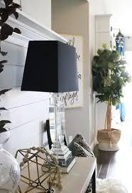 create a sleek entry way using a shiplap paneling