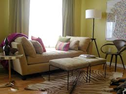 living room gorgeous daybed design with cozy cream cushions and