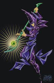 yu gi oh black magician by yukicz on deviantart