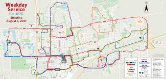 San Jose Bus Routes Map by Route Maps Unitrans
