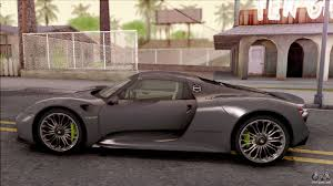 Porsche 918 Awd - porsche 918 spyder 2013 for gta san andreas