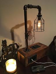 Making Wooden Table Lamps by 25 Best Industrial Table Lamps Ideas On Pinterest Industrial