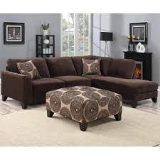 Brown Sectional Sofas Microfiber Sectional Sofas For Less Overstock Com