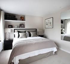 chambre adulte petit espace aménagement chambre utilisation optimale de l espace