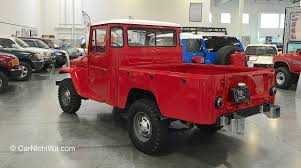 land cruiser vintage carnichiwa toyota usa automobile museum u2013 treasures in torrance