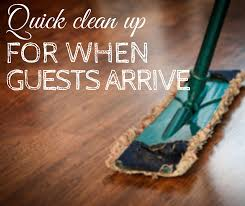 tidy up your house before thanksgiving guests arrive