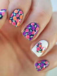 cute flower designs for nails u2013 flower image idea u2013 just another