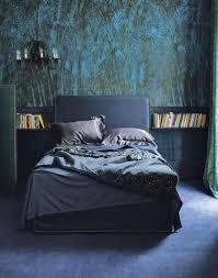 chambre peinte en bleu chambre bleu canard avec quelle couleur accords classe et idées déco