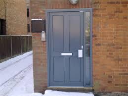 modern glass front door contempory composite entrance doors
