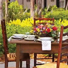 Paula Deen Outdoor Furniture by Spring Outdoor Tables Paula Deen Magazine