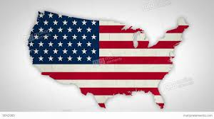 United States Map States by Usa Map States Combine Stock Animation 9042989