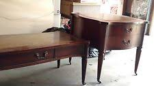 Leather Top Coffee Table Antique Leather Top Table Ebay