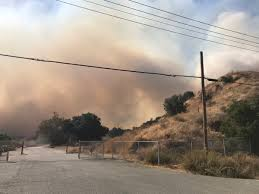 Wildfire Evacuation Stages by Poetry Inn In Yountville Is Threatened Fire Already On Its