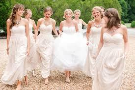statement necklace wedding images 21 brides bridesmaids with stunning statement necklaces jpg