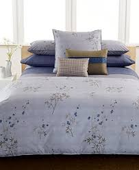 What Is A Bed Coverlet Calvin Klein Home Bamboo Flowers Bedding Collection 100 Cotton