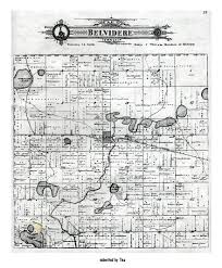 Michigan Township Map by Belvidere Township Montcalm County Michigan