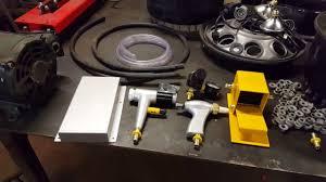 harbor freight sand blast cabinet upgrades pt 4 hf blast cabinet upgrade kit install harbor freight youtube