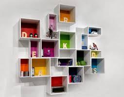 desain rak buku dinding gantung gambar rumah idaman rak buku