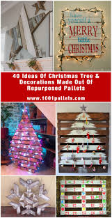40 pallet christmas trees u0026 holiday decorations ideas u2022 1001 pallets