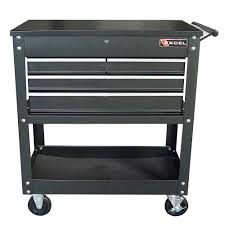 Rolling Metal Cabinet Excel Tool Boxes Tc 400 Black 4 Drawer Rolling Metal Tool Cart