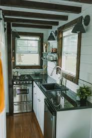 Tiny House Kitchens by Custom Luxury Tiny House On Wheels By Tiny Heirloom Idesignarch