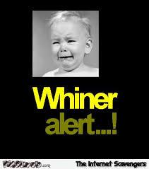 Whiner Meme - funny whiner alert pmslweb