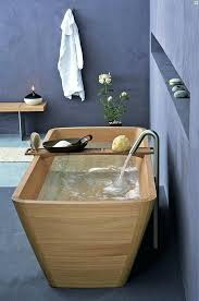 ambiente home design elements this isnt a beach its a bathtub would you take a bath in a wooden