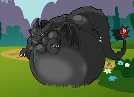 fat toothless rabid red deviantart