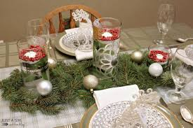 rustic elegance a christmas tablescape just a and her blog