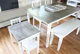 concrete table project crazy craft