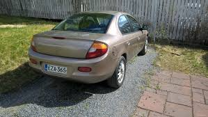 chrysler neon 2 0 se 4d sedan 2002 used vehicle nettiauto
